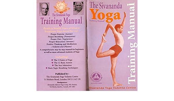 Sivananda Yoga Training Manual: Sivananda Yoga Venda: Amazon ...