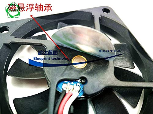 REFIT New Mute MB6010V3-0000 F99 Chassis Speed maglev 6010 6 cm 12 v a Cooling Fan