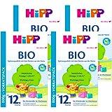 (跨境自营)(包税) Hipp喜宝 有机奶粉 4段12个月以上 4盒装(4*800克)