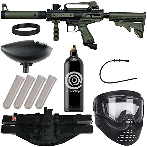 Action Village Tippmann Epic Paintball Gun Package Kit (Cronus) (Olive Tactical Edition)