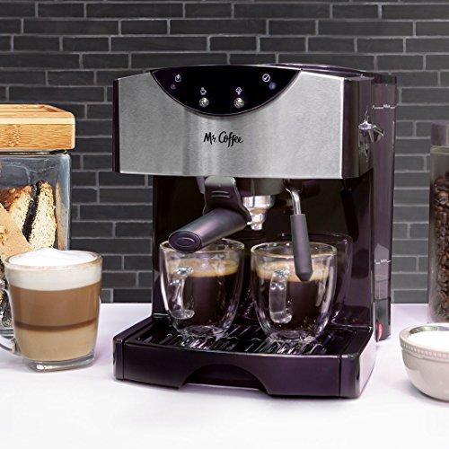Mr. Coffee Automatic Dual Shot Espresso/Cappuccino System