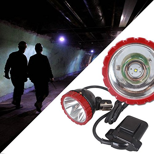 Kohree Cree T6 LED Explosion Proof Mining Hunting Camping Headlight 10w with 2 Modes, 10W AC 85 265V