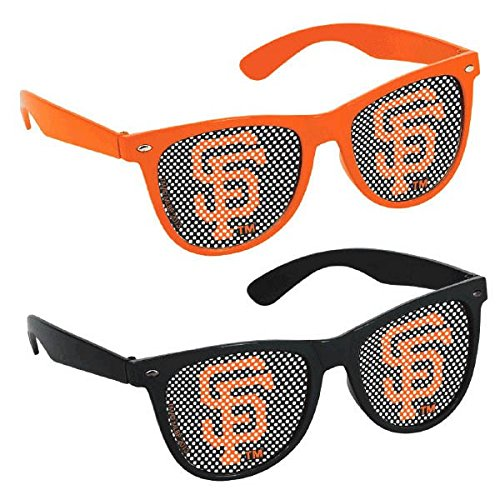 Sf Giants Girl Costume (Sports and Tailgating MLB Party San Francisco Giants Printed Glasses Accessories, Plastic, Adult Size, Pack of 10)