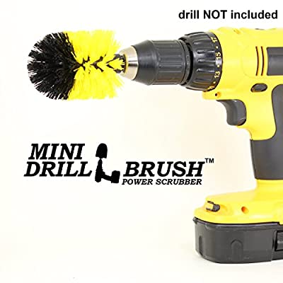 Mini Size Original Drillbrush Tub and Tile Power Scrubber