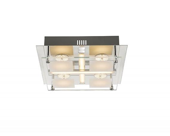 Plafoniere Moderne Led : Plafoniere moderne led lampada da soffitto watt globo