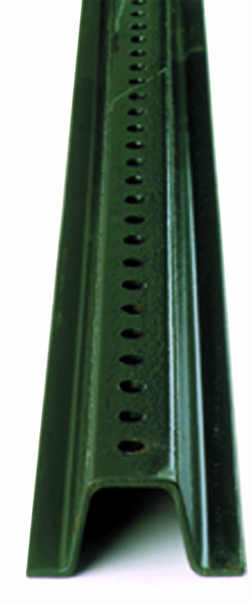 Accuform Signs Hsp106 Standard Weight Steel U Channel Sign Post Green Finish 6 Ft Length Industrial Warning Signs Amazon Com Industrial Scientific
