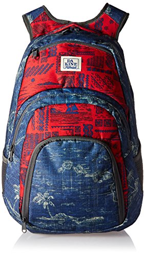 Dakine – Campus Backpack – Padded Laptop Sleeve – Insulated Cooler Pocket – Four Individual Pockets – 25L & 33L Size (Insulated Cooler Pocket)