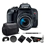 Canon EOS Rebel T7i Digital SLR Camera with 18-55mm Lens 1894C002 – Starter + Bundle For Sale
