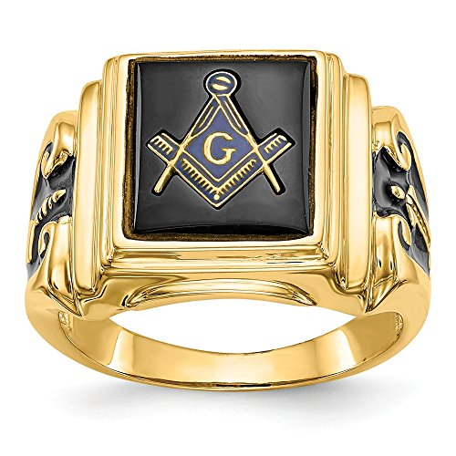 Masonic Ring 14k For Sale Only 4 Left At 75