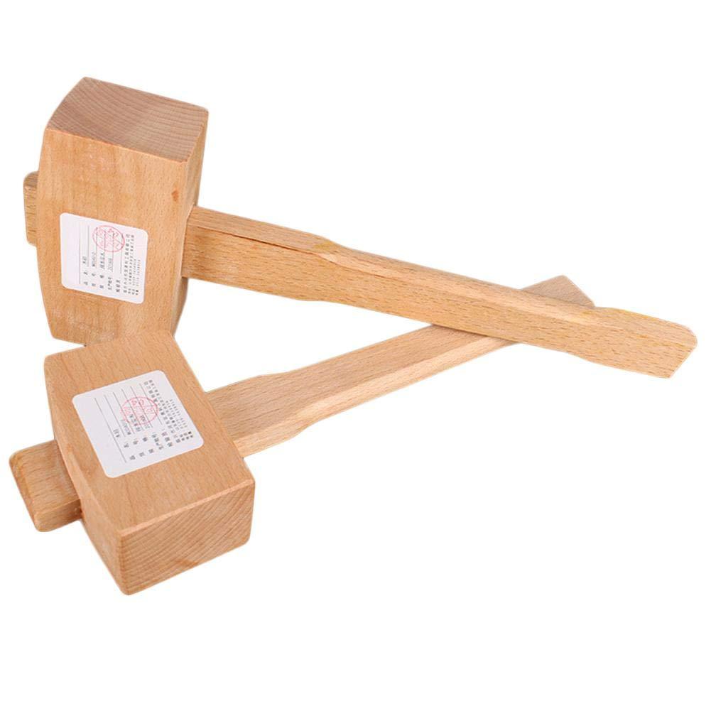 Mazo peque/ño de Madera para carpinter/ía duhe189014 Apto para cinceles de carpinter/ía 100 mm cincel de trinchar Madera