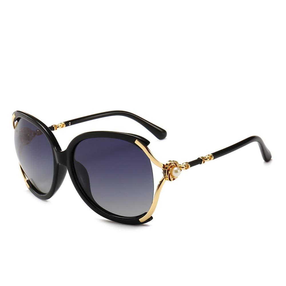 Yangjing-hl Gafas de Sol, Damas, Perlas, anteojos, Huecos ...