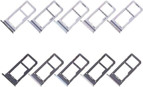 Meipai Adaptateur de Carte SIM Simple//Double Slot Plateau pour Samsung Galaxy S8/S8/Plus