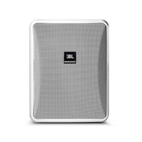 JBL Professional Control 25-1 Compact Indoor/Outdoor Background/Foreground Speaker, White (Sold as Pair) (Control 25-1-Wt) (Jbl Control One Woofer)