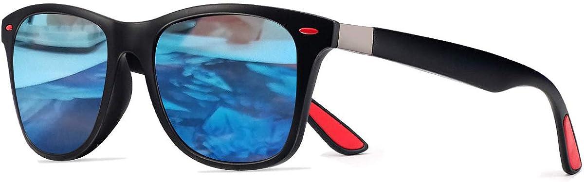 CHEREEKI Occhiali da Sole Polarizzati Moda Occhiali da Sole Donna e Uomo UV400 Protezione