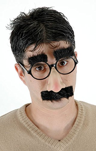 Elope Groucho (Black) (Glasses Site)