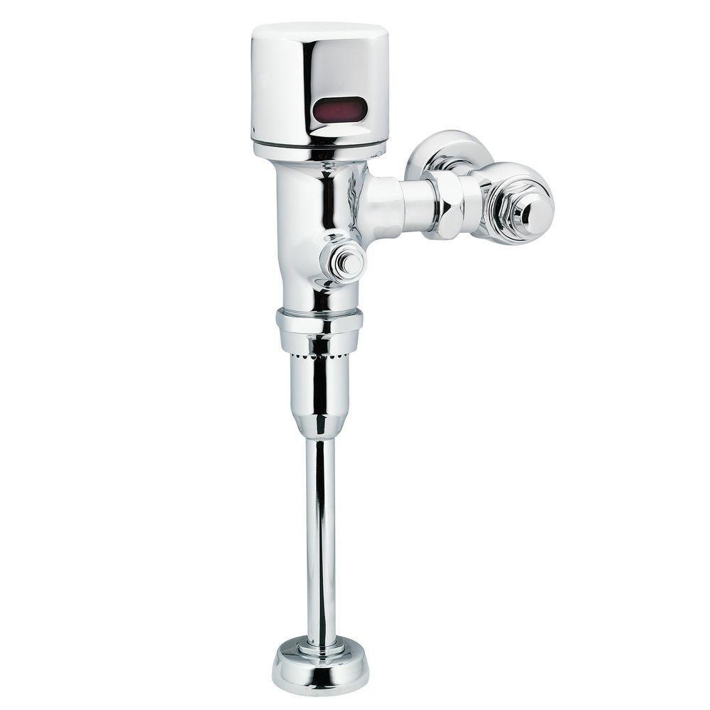 Moen 8316 M-Power 3/4-Inch Urinal Battery Powered Exposed Sensor-Operated Electronic Flush Valve .125 gpf, Chrome
