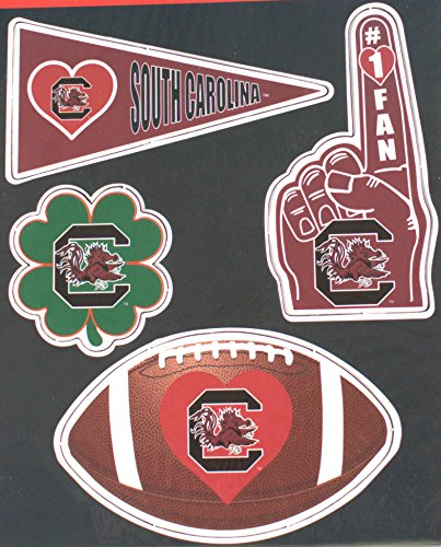 South Carolina Gamecocks 4 piece Magnet Set