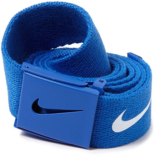 Nike Men's Tech Essentials Web Belt, Game Royal, One Size - Nike Reversible Belt Accessories