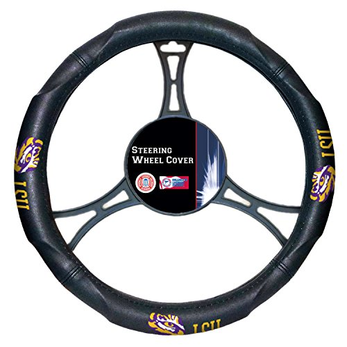 Officially Licensed NCAA LSU Tigers Steering Wheel Cover