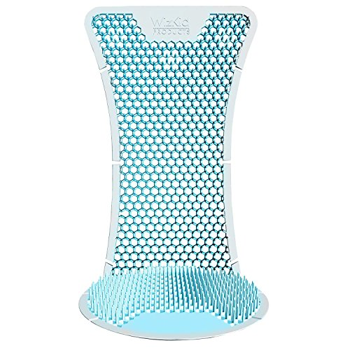 T Market Splash Hog Urinal Screen – Clean Scent | Reduces Splash-Back | Long Lasting Fragrance | Deodorizes for up to 60 Days | 6-Pack, Light Blue by T Market (Image #4)