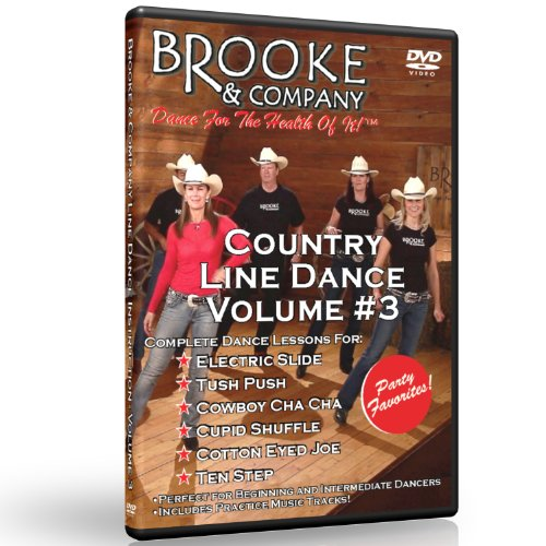 Country Line Dance Volume #3 - Party Favorites by Brooke & Company