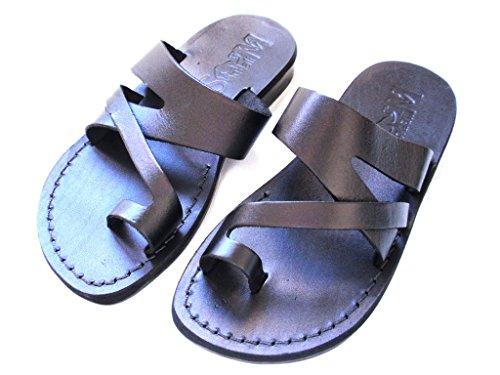 Men's Genuine Leather Sandals, Flip Flops, Biblical Sandals, Jesus Sandals, JERICHO Style by SANDALIM