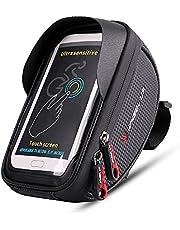 RIOGOO Fahrrad Rahmentaschen, Wasserdichter Rahmentasche Fahrradtasche Sports Rahmentasche für iPhone 8 7 Plus 6 s 6 Plus 5 s 5 / Samsung Galaxy s7 s6 Note 7, für alle fahrradtypen