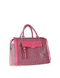 ELLE Satchel (El0144G), Pink, Under Seat