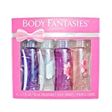 Body Fantasies 4-Piece Gift Set, 4 Count