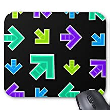 Arrow Pattern (Itg Cool) Mouse Pad
