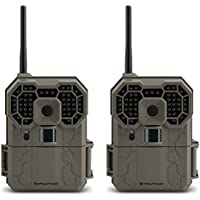 Stealth Cam GXW 12MP 1080p HD iOS & Android Wireless Game Trail Camera, 2 Pack