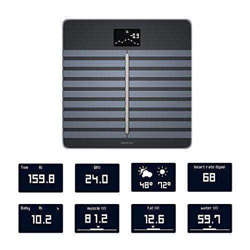 -[ Nokia Body Cardio – Heart Health & Body Composition Wi-Fi Scale, black  ]-
