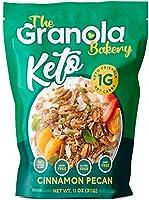 The Granola Bakery Keto Granola   Low Carb Keto Cereal   1g Net Carb   Low Sugar, Keto Nut Granola   Small Batch, Hand...