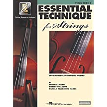 Essential Technique for Strings - Violin: (Essential Elements Book 3) with EEI