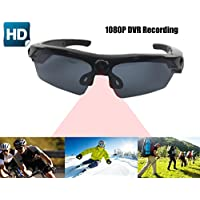 JOYCAM Polarized UV400 Sunglasses Soprts Camera Full HD 1080P DVR Eyewear Video Recording with Wide View Angle