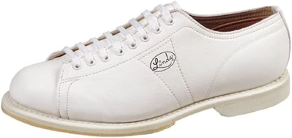 LindsメンズクラシックホワイトBowling shoes- Right Hand ホワイト 9 M US