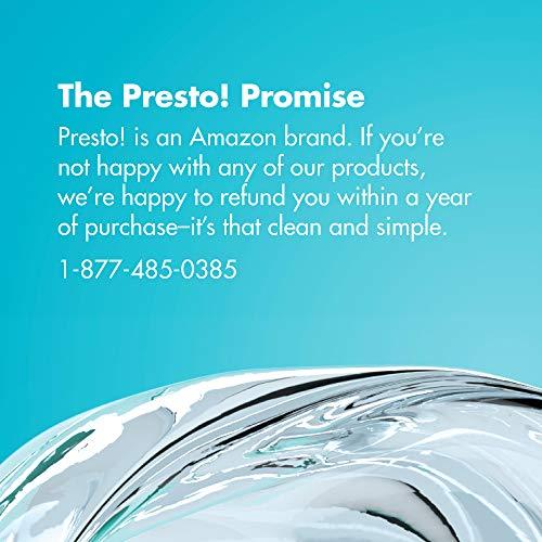 Presto! by Amazon: All-Purpose Cleaner Starter Kit (1 reusable spray bottle, 1 refill pac), Refill, reuse, reduce