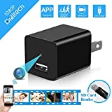 Spy Hidden Camera WiFi, Diditech Spy Camera Wireless Hidden Wall Charger 120 Degree Angle Motion Detection APP Remote Control 1080P Video Recorder Nanny Cam Home Security