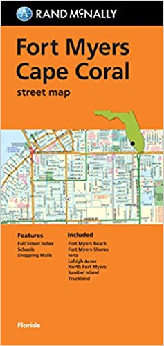 Buy Ft Myers Cape Coral Florida Rand Mcnally Street Map Book