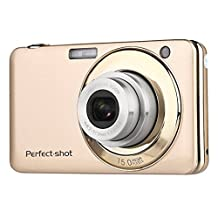 PowerLead Gapo G052 2.7 Inch TFT 5X Optical Zoom 15MP 1280 X 720 HD Anti-shake Smile Capture Digital Video Camera