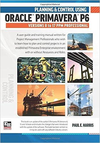 P6 tutorial ebook download primavera