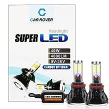 40W LED Bulb H11,LED Headlight Kit H11,CAR ROVER Canbus Car LED Conversion Kit,LED Fog Lights for Trucks