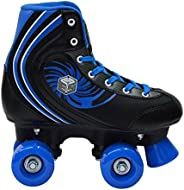 New! Epic Rock Candy Quad Roller Skates w/ 2 Pr. Laces (Black & B