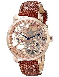 Akribos XXIV Men's AK406RG Bravura Davinci Mechanical Rose Gold-Tone Watch
