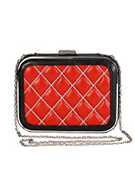 XSLhandbag Women's Plaid Evening Bag
