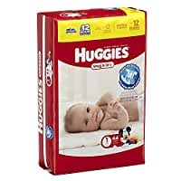 Huggies Baby Diapers, Snug & Dry, Size 1 (8 - 14 lbs), 44 ct