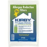 Kirby Genuine Type F Microfiber Dust Bags for Kirby Avilar, Heritage & Sentira Series Upright Vacuum Cleaners - Pack of 6