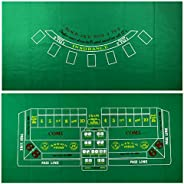 "36"" x 72"" Casino Table Felt Layout b"