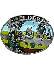 IPOTCH Western Welder Lumberjack Belt Buckle Men's Novelty Clothing Motorcyclist