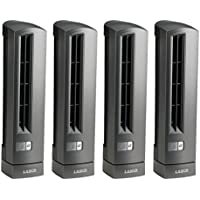 Lasko Air Stik Ultra Slim Oscillating Fan (4 Pack)